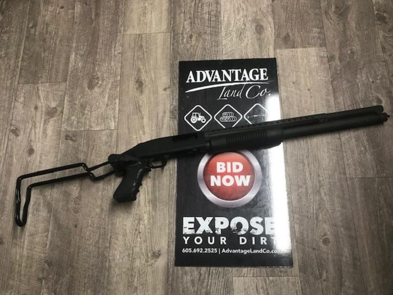 Mossberg 500 Home Defense 12 Gauge Collapsable Stock  - Online Auction