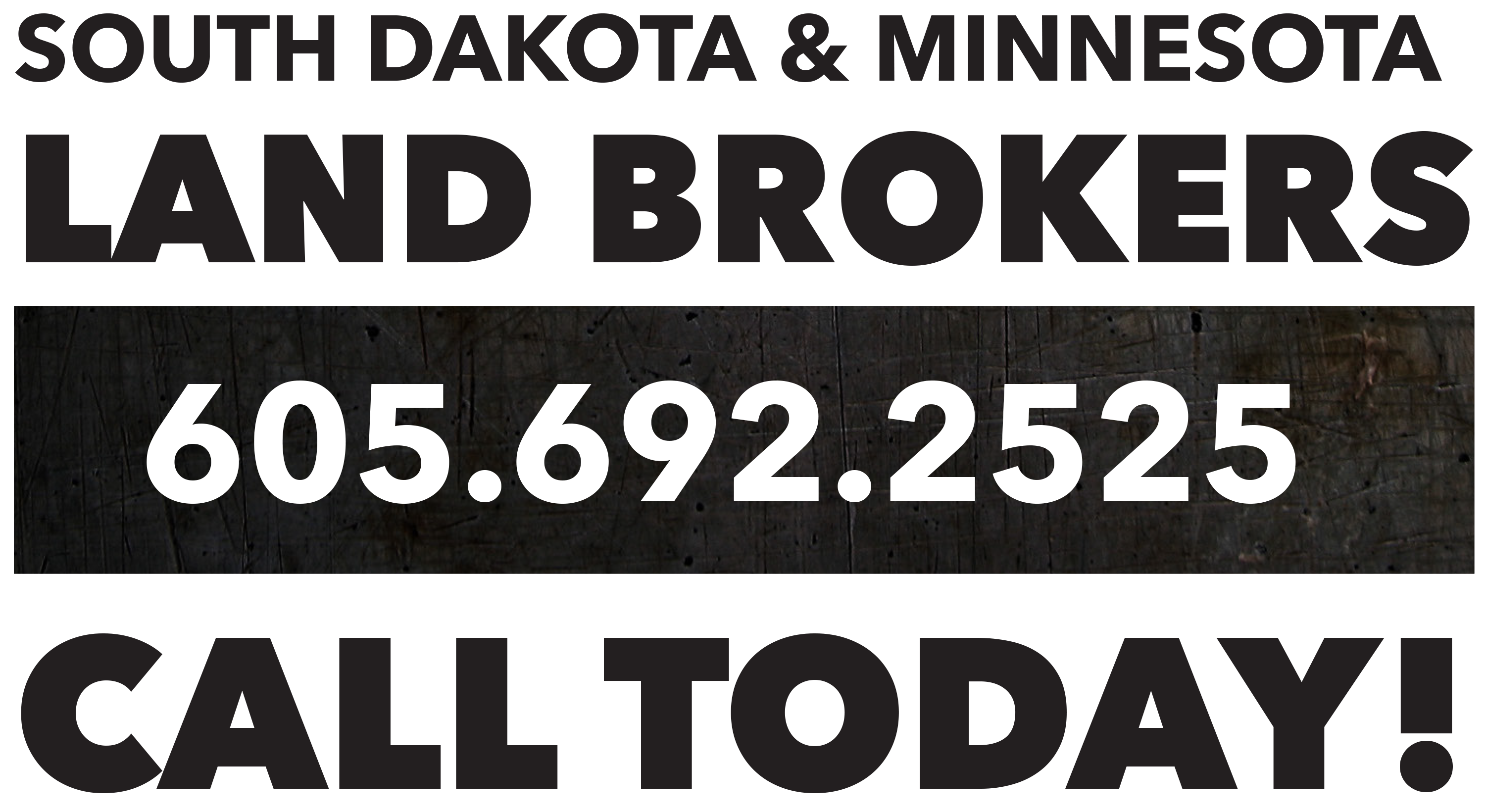 south dakota and minnesota land brokers call today