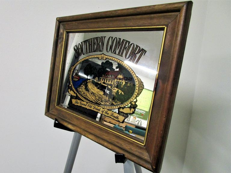 "Southern Comfort Rustic Bar Signage - Find your Southern Charm! 15x12"" - Online Auction"