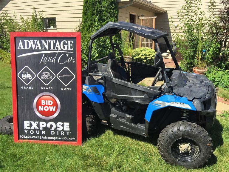 2015 Polaris 570 – CLEAN & FAST! Low Miles + SECOND SET OF TIRES! - Online Auction