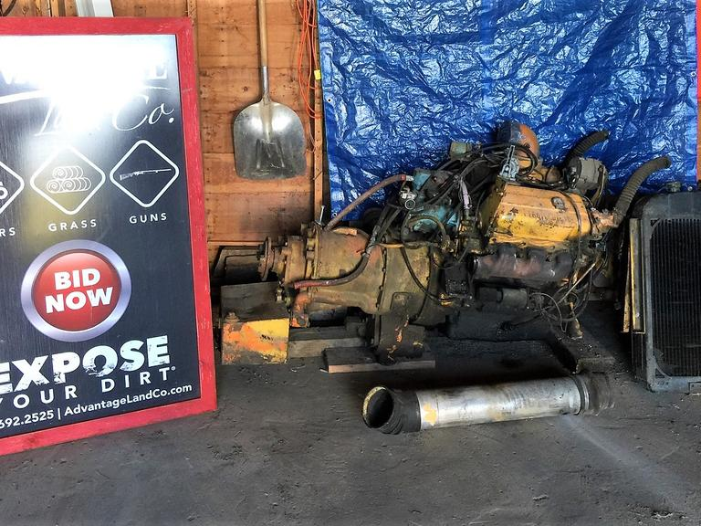 Detroit Diesel 6 Cylinder Crane Motor - Running in May 2019 - BIG DIESEL - Online Auction