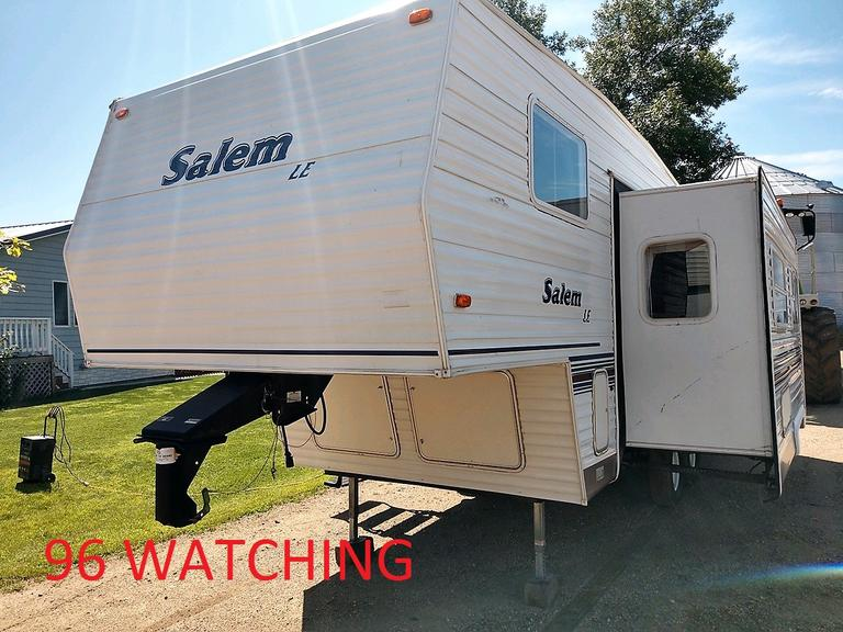 Salem Camper - 26 Foot with Side Extension - LE Edition - Online Auction