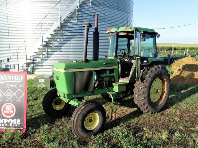 John Deere 4430 Tractor - Starts and Runs Great - CLEAN + RELIABLE - Online Auction