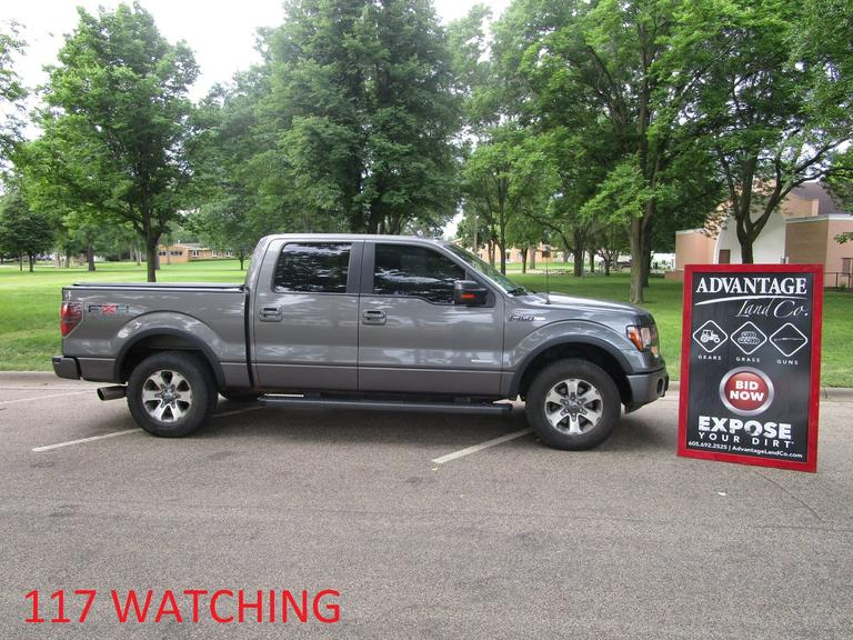 2011 Ford F-150 FX4 - Online Auction