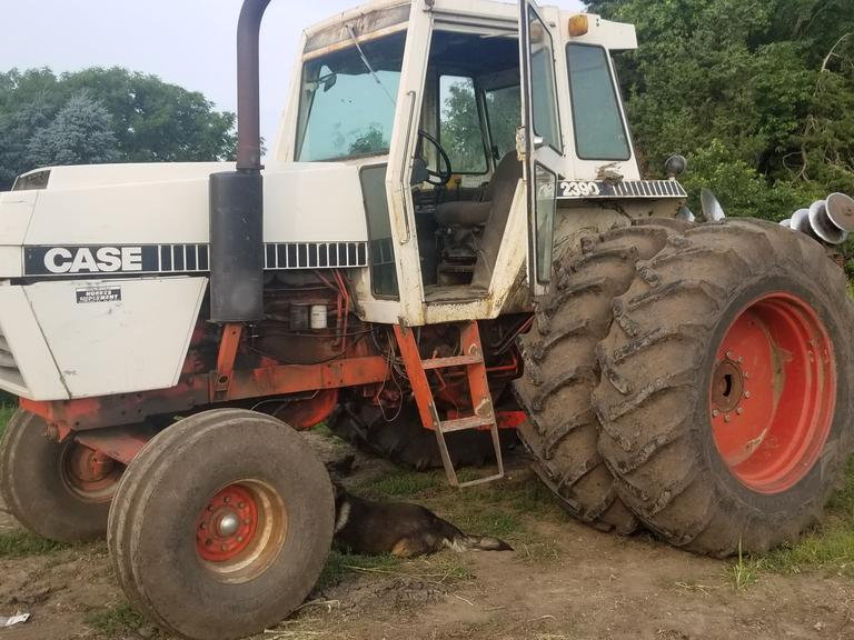 Case 2390 Tractor with Duals - 160 HP - Clean, Cheap Horsepower - Online Auction