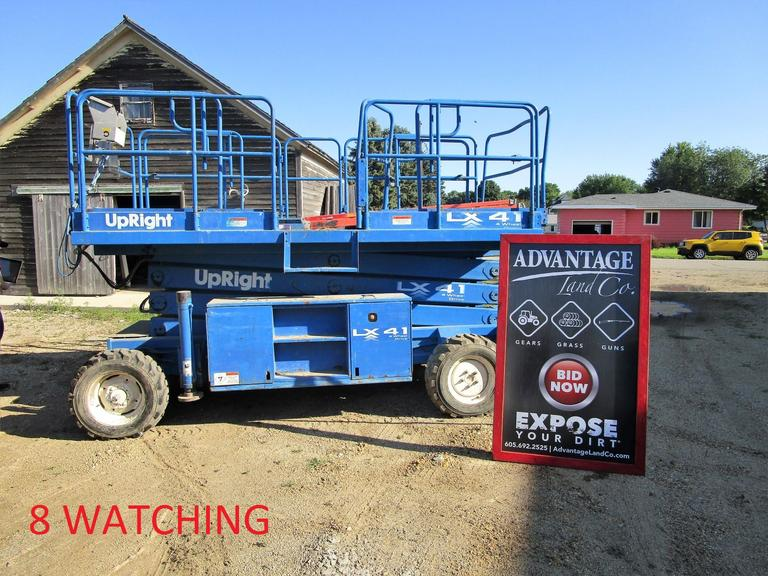 LX-41 4 Wheel Drive UpRight Lift - Online Auction