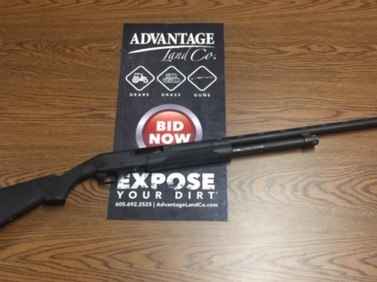 20 Gauge Pardner Pump Shotgun - Great Condition and Ready for Fall Pheasant! - Online Auction
