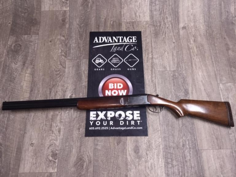 Savage Over Under 12 Gauge Model 420 - REGISTER TO BID TODAY! QUICK & EASY! - Online Auction