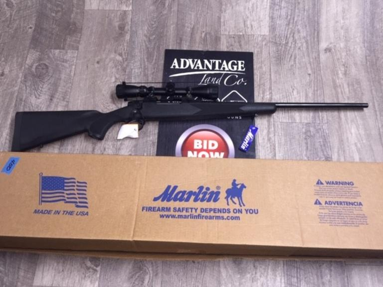 Marlin Model X7 .270 Caliber - Brand NEW in Box w/ Scope READY FOR DEER SEASON - NIB - Online Auction