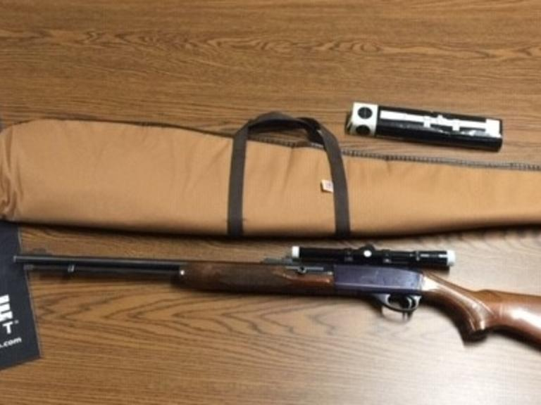 Remington Model 552 Speedmaster 22 Long AND Short - Vintage Rifle with Allen Sleeve - Online Auction