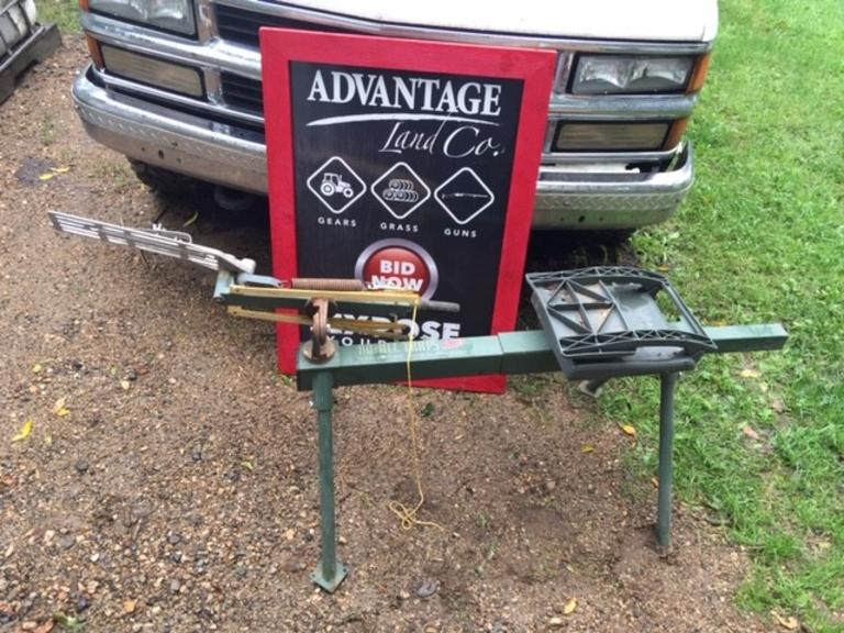 Clay Target DO-ALL-TRAPS Trap and Skeet Target Thrower - Online Auction
