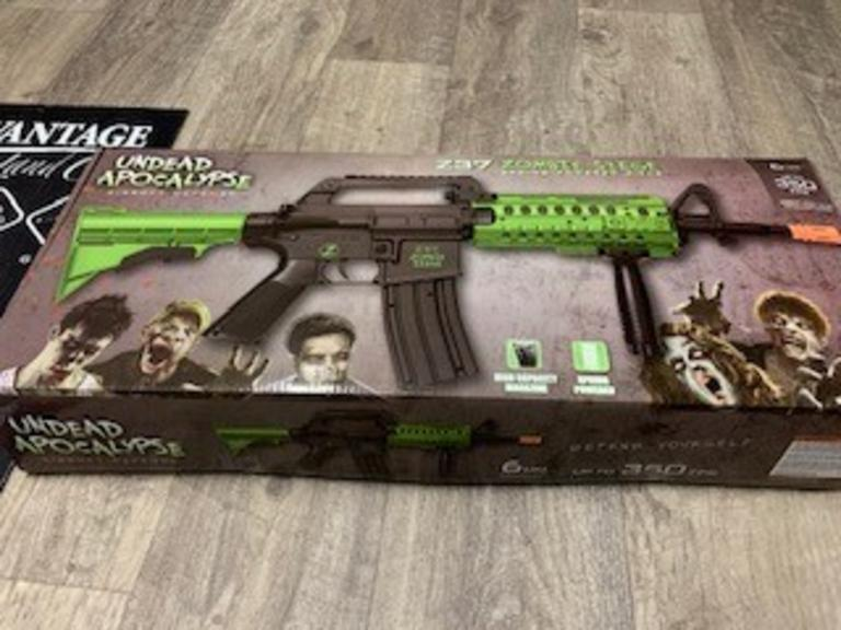 Crosman Z37 Zombie Siege Airsoft Rifle - New in Box - Online Auction