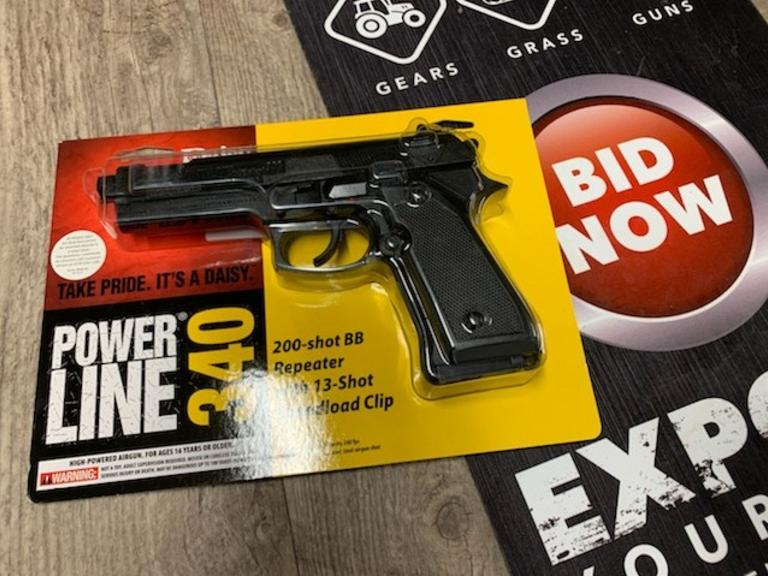 Daisy BB - Pellet Pistol - New in Package - Online Auction