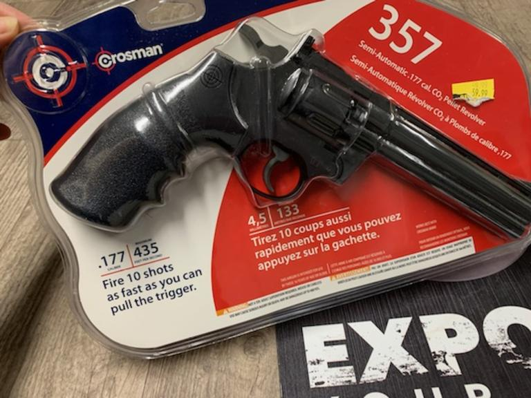 Crosman BB - Pellet Pistol - New in Package - Online Auction