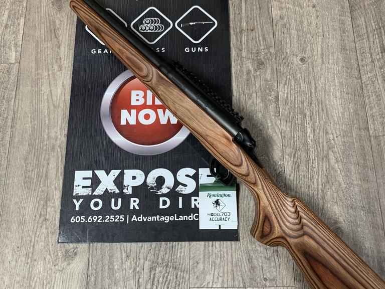 Remington 783 - 6.5 Creedmoor - BRAND NEW! - Online Auction