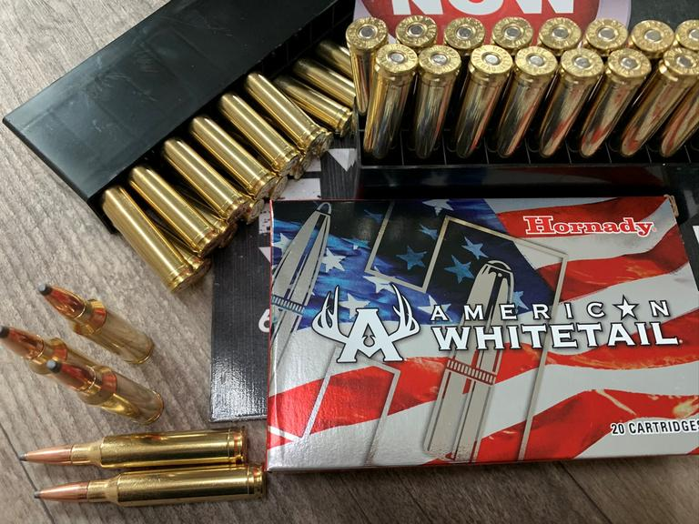 3 Boxes of Hornady American Whitetail - 7MM Rem Mag Ammo - BIDDING IS PER BOX - Online