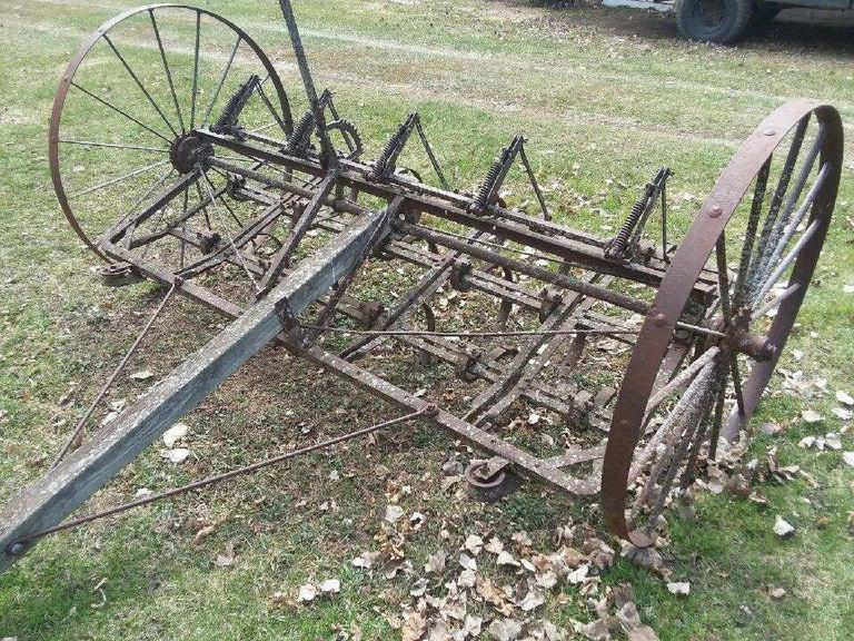 Antique Field Cultivator  - Online