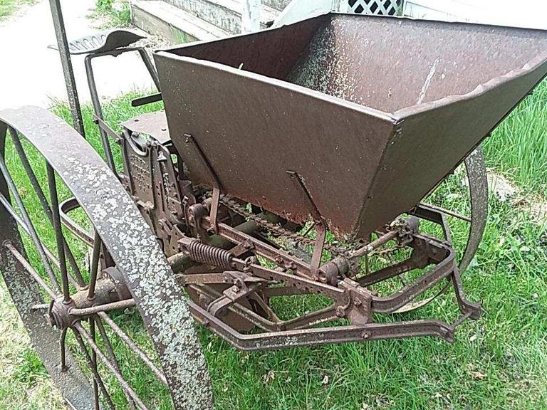 Antique Potato Planter - Online